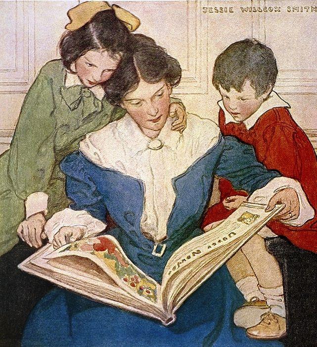 Джесси Уилкокс Смит. Новая книга, 1915 | Иллюстрации ...