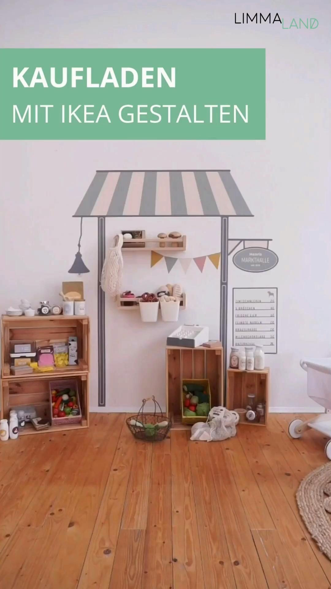 Gestalte deinen individuellen Kaufladen mit IKEA Zubehör!