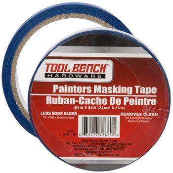 Tool Bench Hardware Painters Masking Tape 54 Ft Masking Tape Tool Bench Painting Supplies
