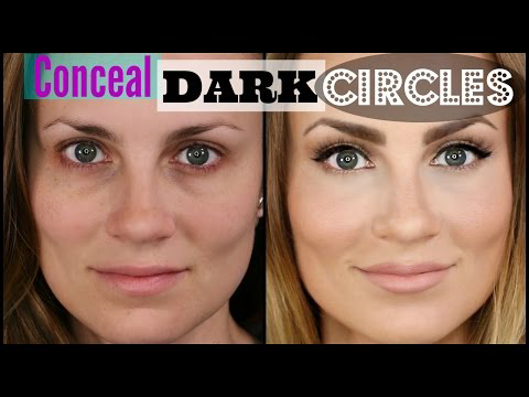 How to Cover Dark Under Eye Circles #darkcircle