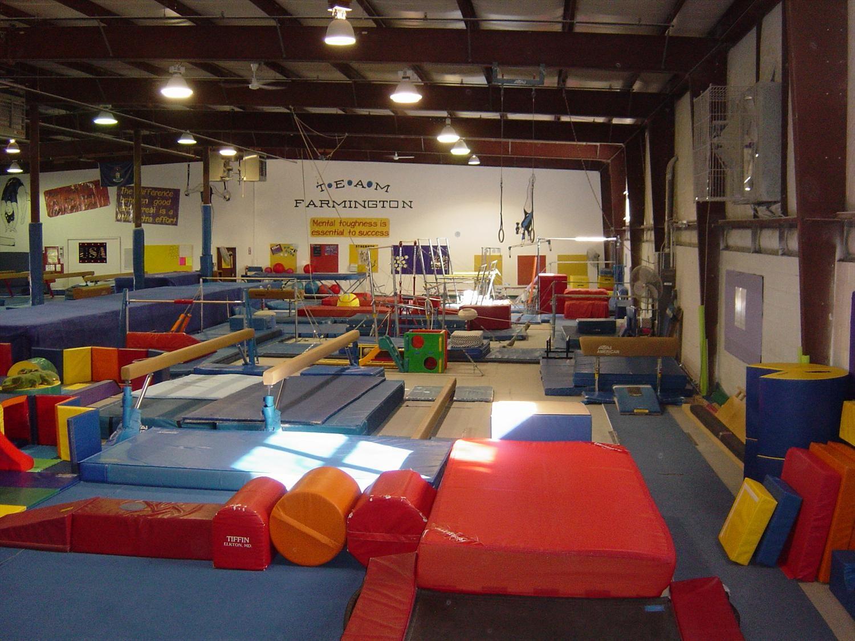 Farmington gymnastics center has great beginner classes