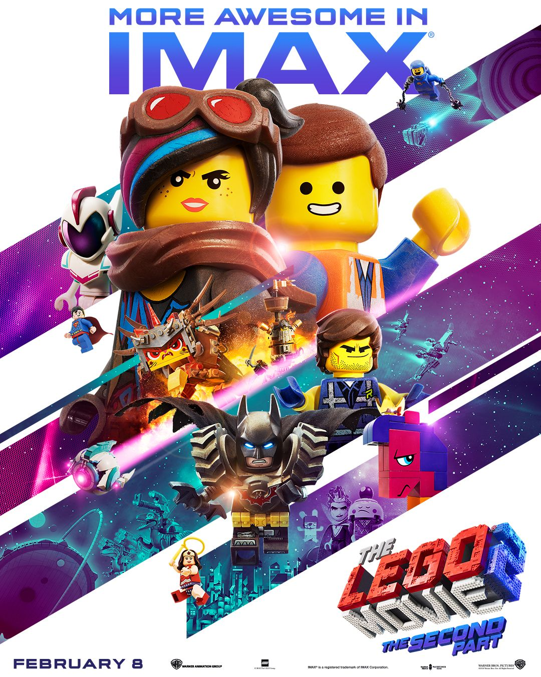 the lego movie 2 the second part in theaters february 8. Black Bedroom Furniture Sets. Home Design Ideas