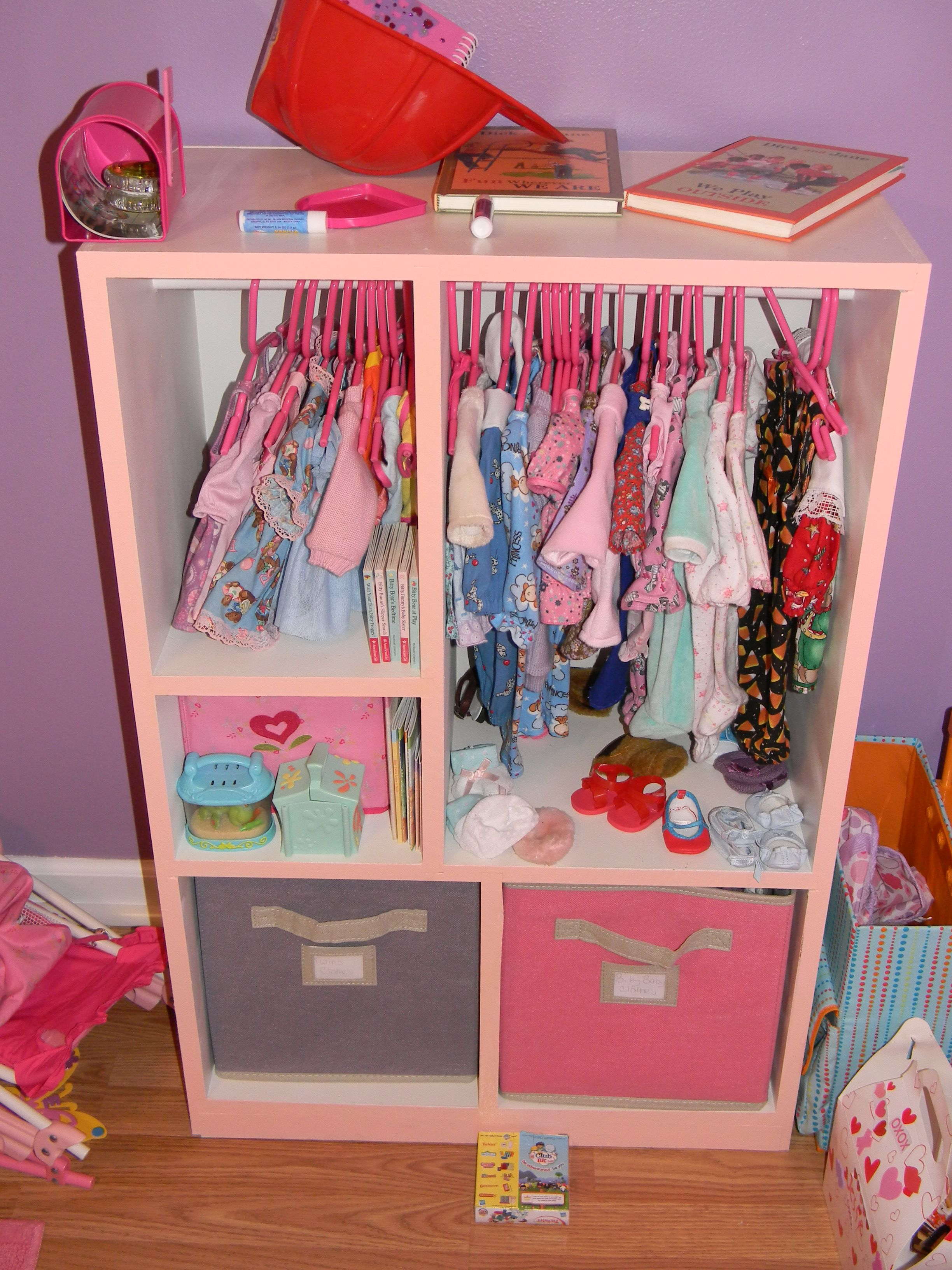 The Wardrobe Fully Loaded With Bitty Baby Clothes Baby Alive Dolls Baby Doll Nursery Bitty Baby Clothes