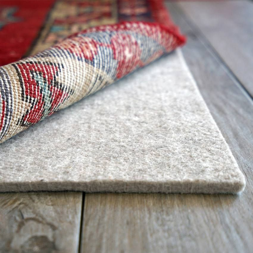 Want To Extend The Life Of Your Wool Rug Place A Rug Pad Underneath It To Add Extra Softness And Keep It From Slid Rug Pad Crate And Barrel Rugs Buying
