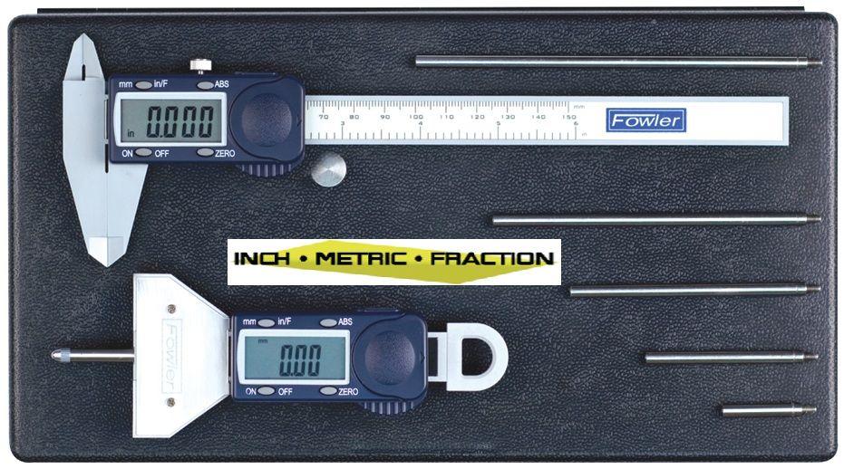 Fowler Basic Depth Gage And Poly Cal Kit Depth Gage Precision Measuring Measuring Tools