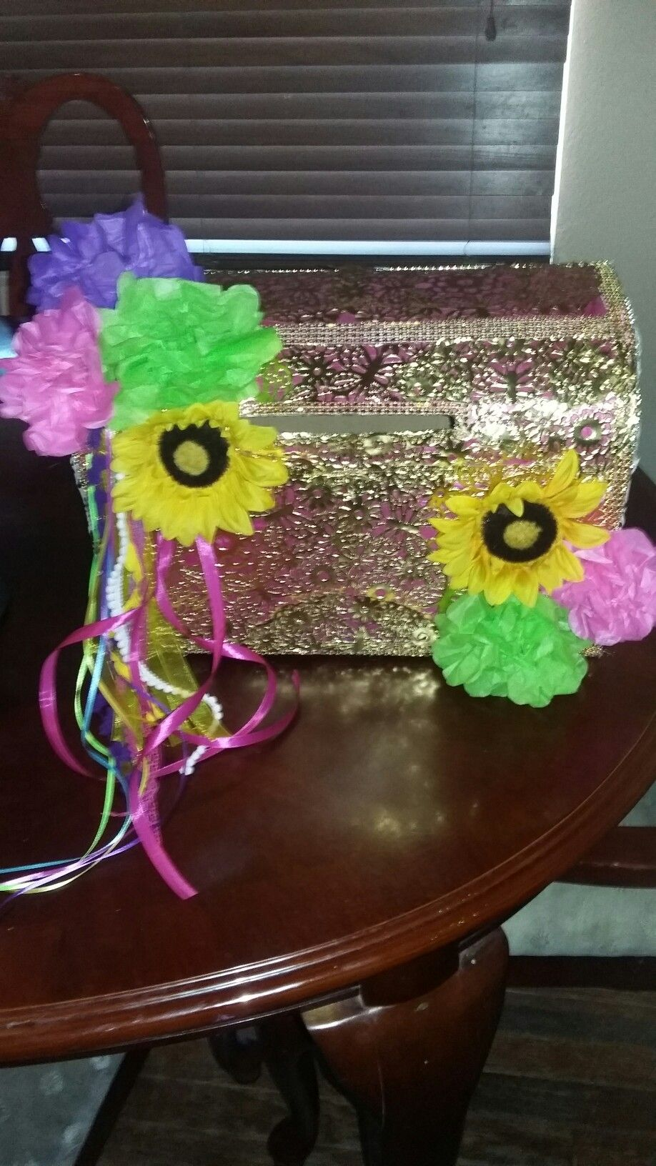 Gift Card Box Mexican Party Fiesta Cool Stuff Mexican Bridal