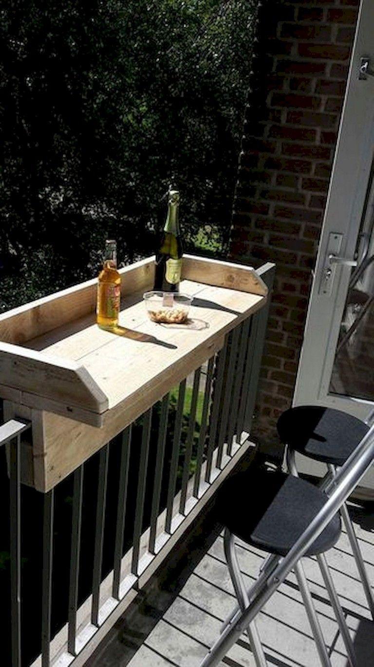 70+ Stunning Small Balcony Decorating Ideas on A Budget #smallbalconyfurniture