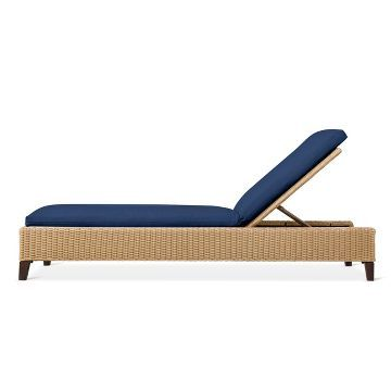 Fullerton Wicker Patio Chaise Lounge   Threshold™