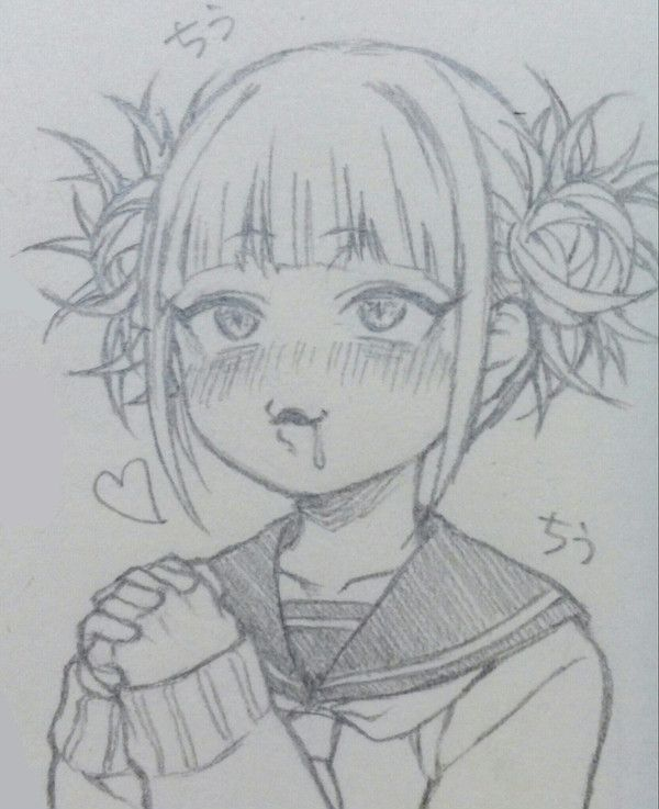 Toga Himiko Anime Sketch Anime Drawings Sketches