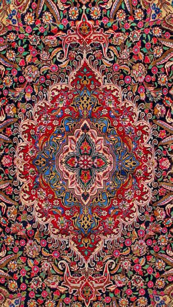 Kashmar Persian Rug A Little Too Busy For My Taste But The Work Is Exquisite Iranian Carpet Patterned Carpet Iranian Rugs