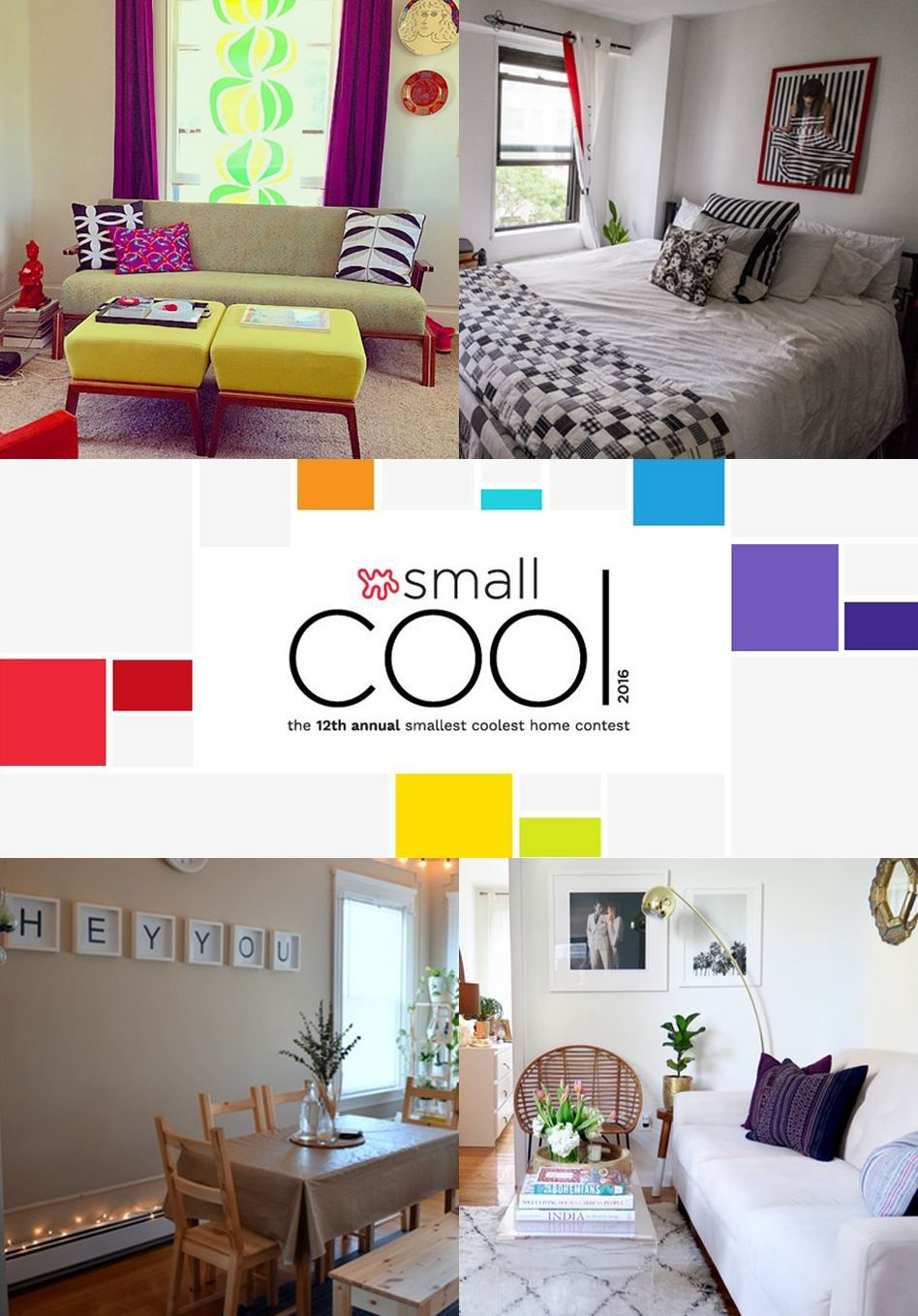 Small Living Room Apartment Therapy: Style Lessons From Today's Small Cool Entries (Vote For