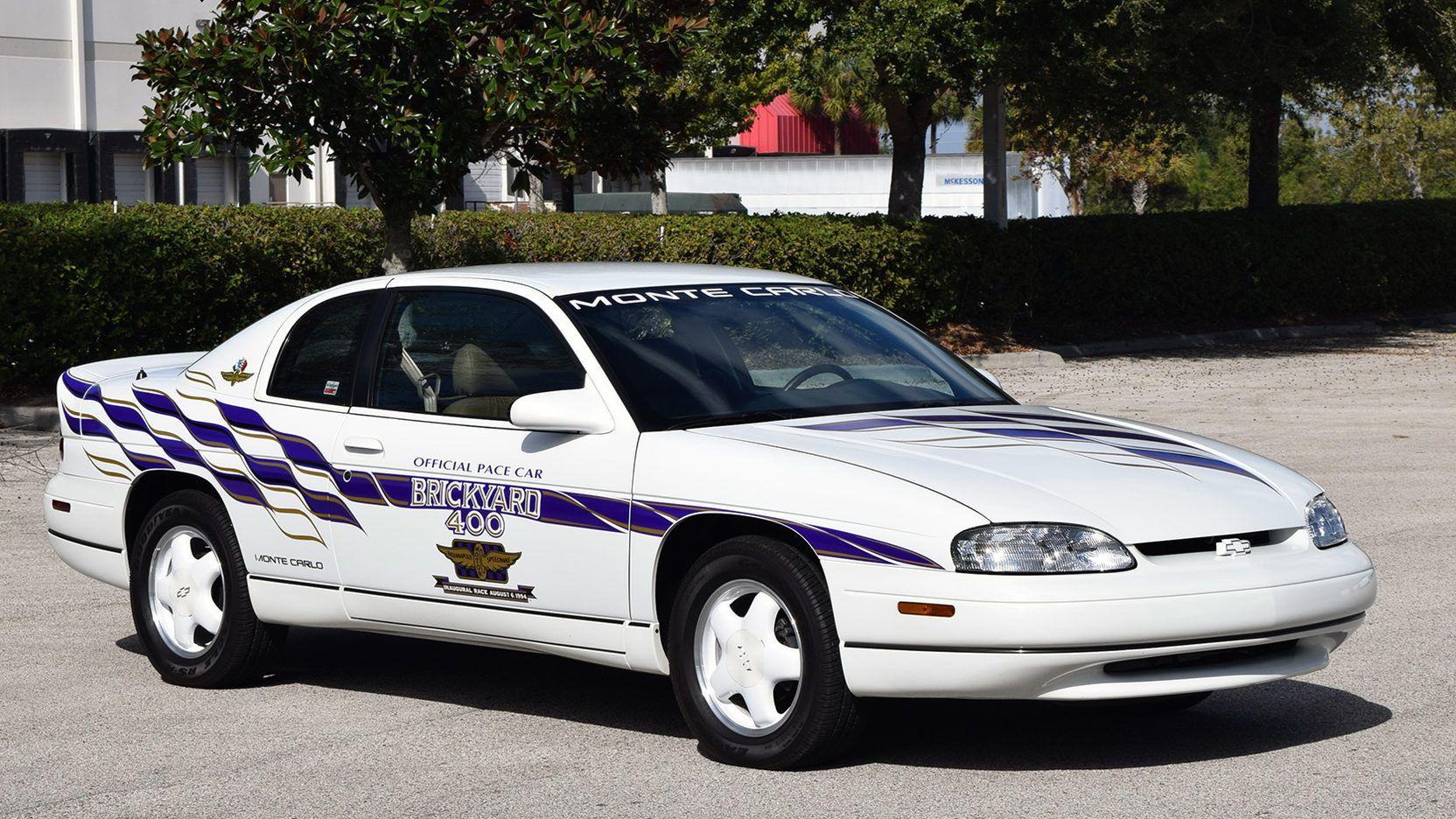 1995 Chevrolet Monte Carlo Pace Car Edition Chevrolet Monte Carlo Chevrolet Monte Carlo