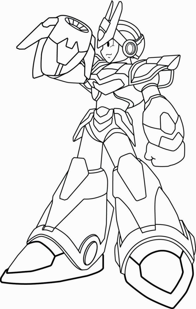 Megaman X Coloring Pages | Coloring Pages | Pinterest | Coloring pages