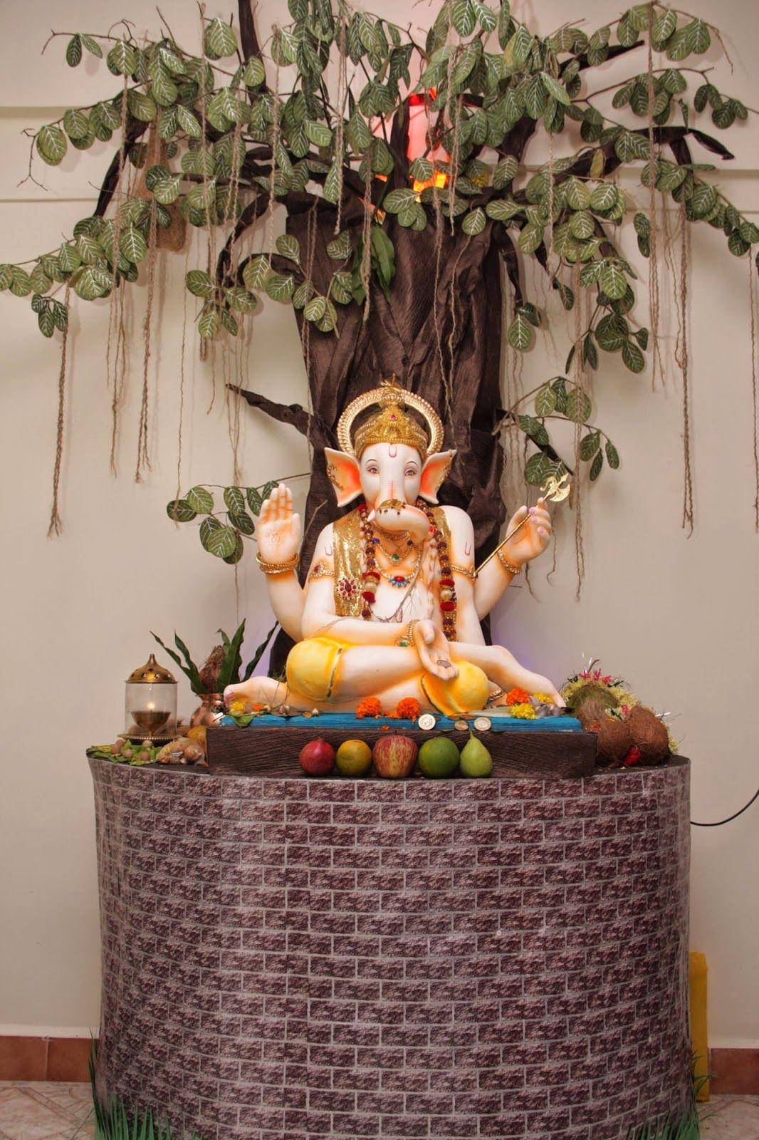 Eco Friendly Ganesh Eco Friendly Decorations Ideas Ganapati