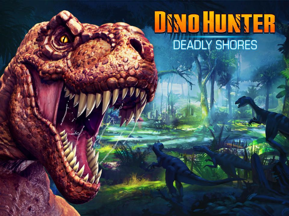 LETS GO TO DINO HUNTER DEADLY SHORES GENERATOR SITE! [NEW
