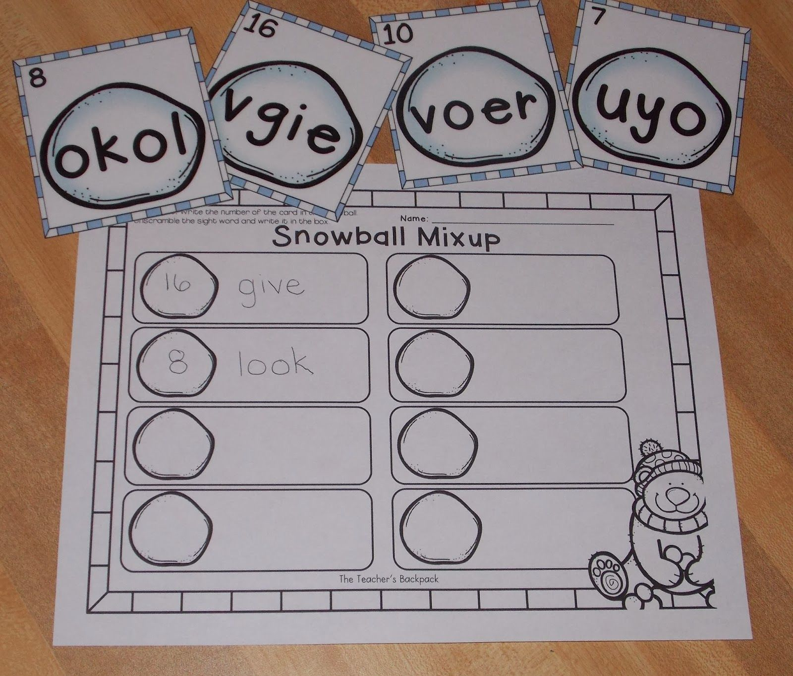 100th Day Sight Word Worksheet