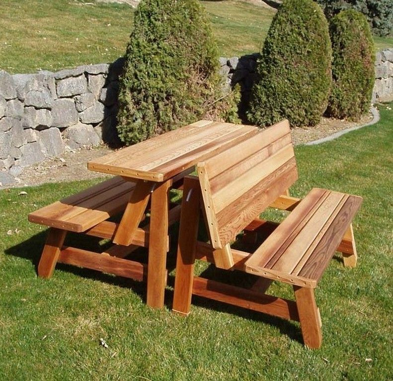 Convertible Picnic Table Google Search Picnic Table Plans Picnic Table Bench Picnic Table
