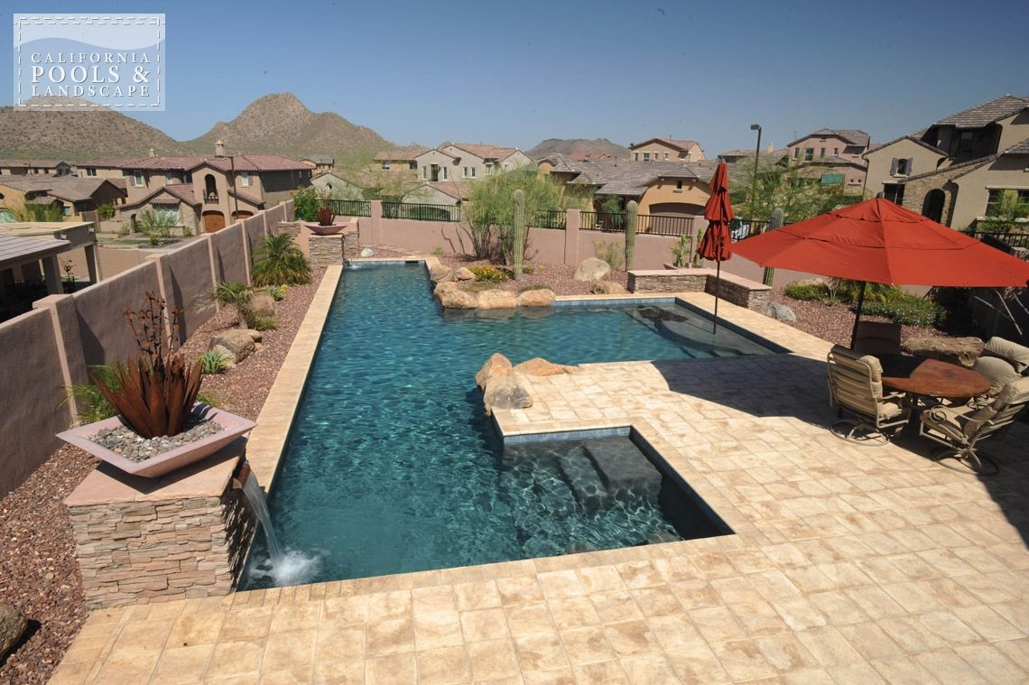 Az Swimming Pool Contractors California Pool Amp Landscape