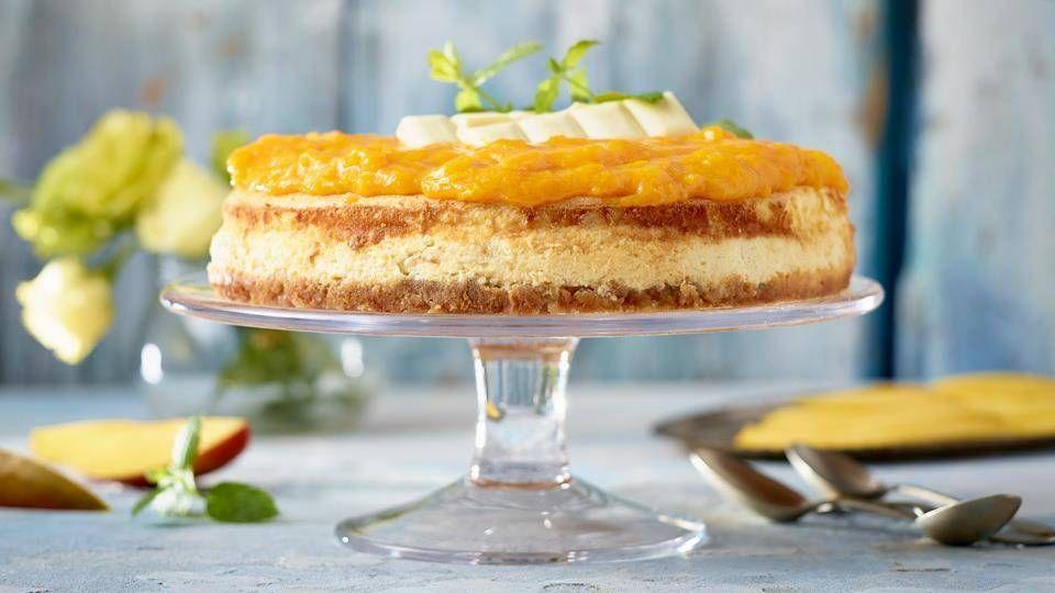 Sernik Z Biala Czekolada I Mango Przepis Recipe Desserts Food Cheesecake