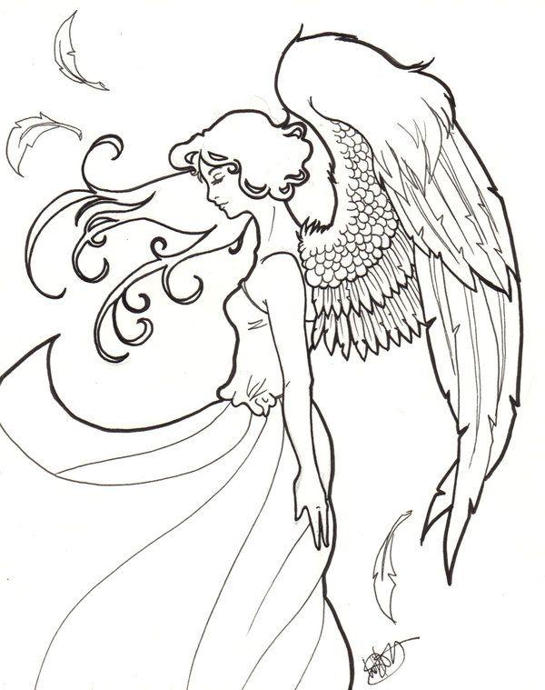 Angel by xerachan on DeviantArt * Angel Fantasy Myth