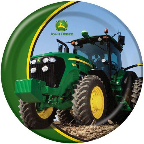 John Deere Tractor Large Paper Plates (8ct)   John Deere   Pinterest
