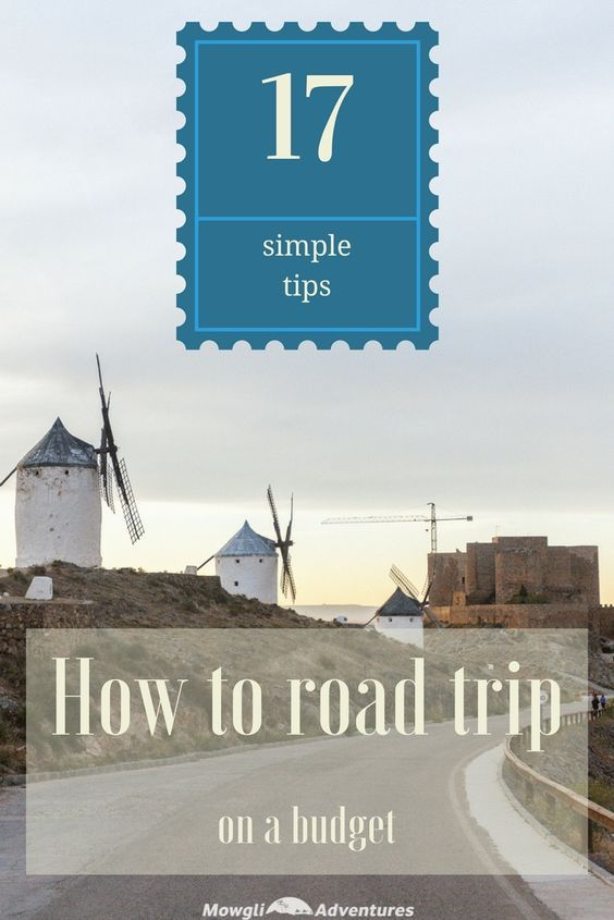 17 simple ways to road trip on a budget Road trips, Budgeting and - simple budget