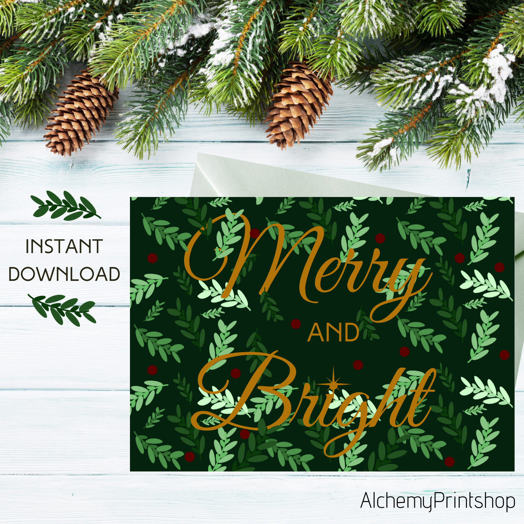 Merry And Bright Holiday Party Invitation Christmas Party Etsy Winter Birthday Invitations Holiday Party Invitations Christmas Party Invitations