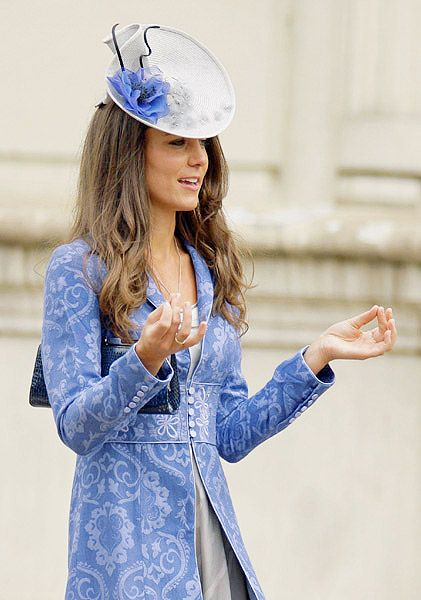 """I adore this coat. If I owned it, I'd wear it more than once! Who cares if Kate """"recycles"""" good on her"""