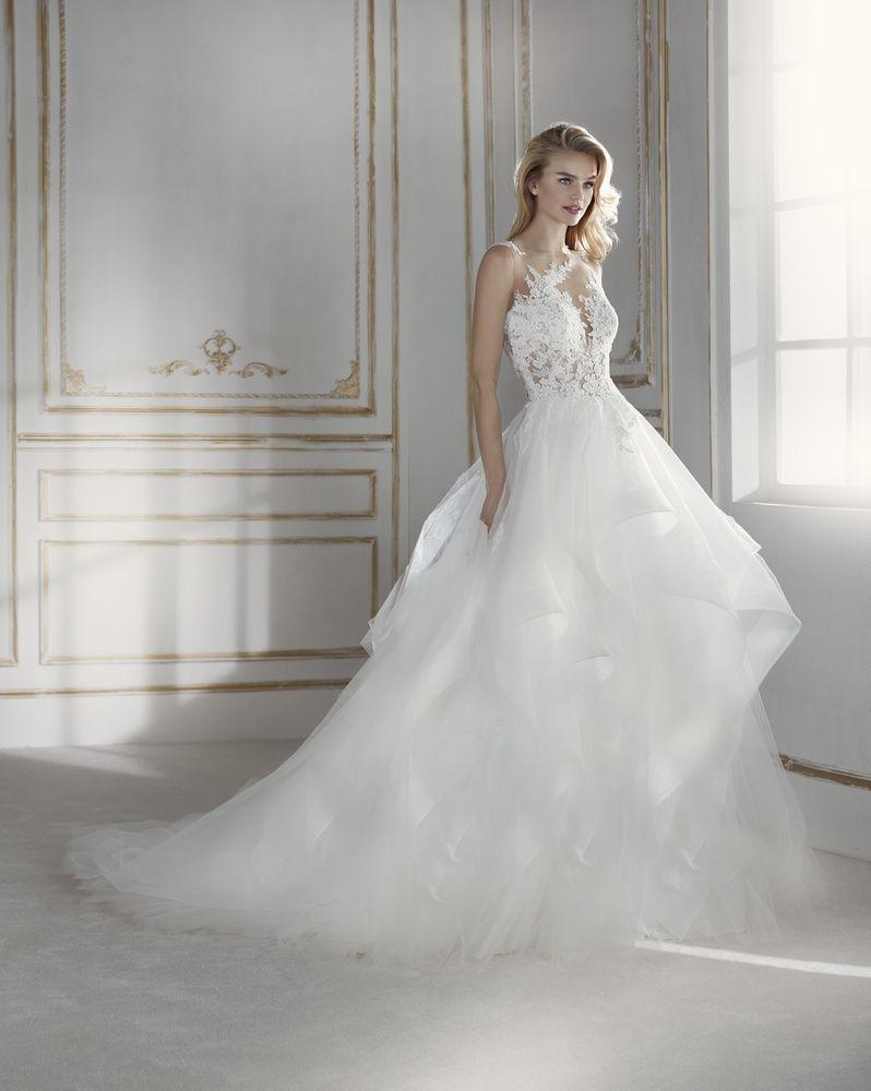 Robe de Mariée PRIMROSE de la marque LA SPOSA disponible à Nice à la  boutique NICEA 640a9e92227