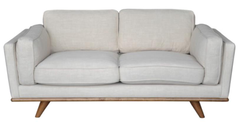 Freedom Furniture Dahlia 2 Seat Austria Shell Fabric Living Room Sofa Freedom Furniture Love Seat