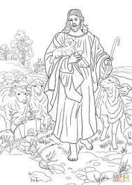 jezus is de goede herder kleurplaat zoeken