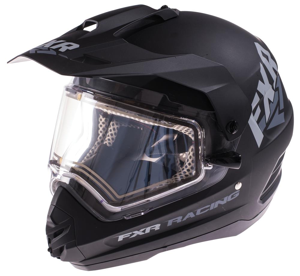 Fxr Torque X Recoil Helmet With Electric Shield Snowmobile Helmets Helmet Snowmobile