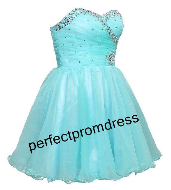 short bridesmaid dress  prom dress / by perfectpromdress on Etsy, $95.00