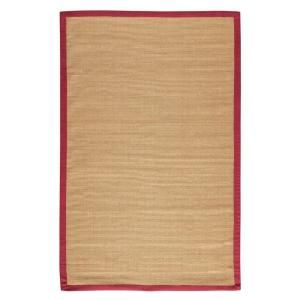 Home Decorators Collection, Washed Jute Red 12 ft. x 15 ft. Area Rug at The Home Depot