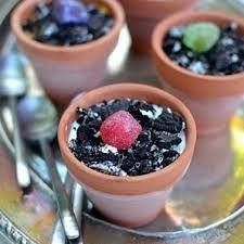 soup in flower pot - Google Search