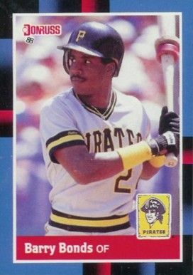 1988 Donruss Barry Bonds 326 Baseball Card Value Price Guide Baseball Cards Baseball Card Values Barry Bonds