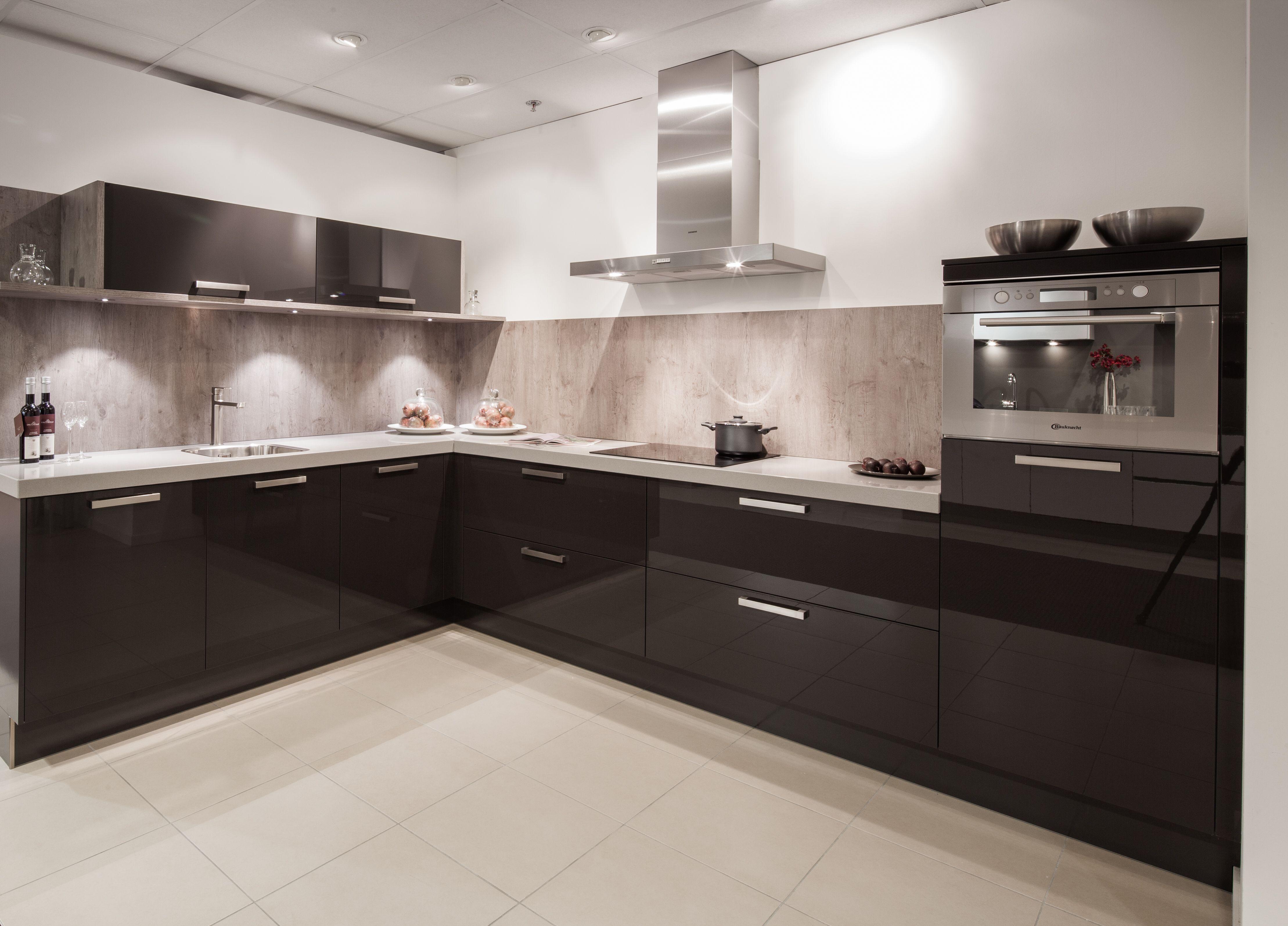 Moderne Keuken Donker : Keuken donker eiken elst vri interieur