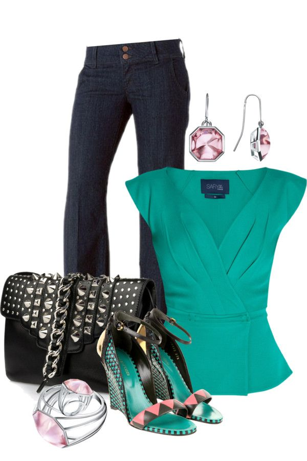 """Trouser Jeans Contest"" by spherus ❤ liked on Polyvore"