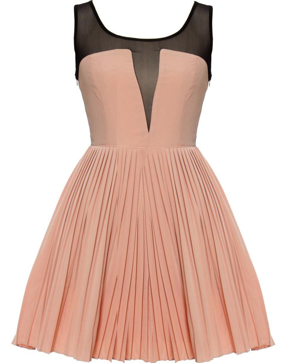 Vintage Shell Pink Dress
