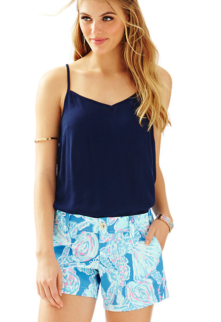 7ac5628530 CALLAHAN SHORT BAY - BLUE INTO THE DEEP BY LILLY PULITZER | I Would ...