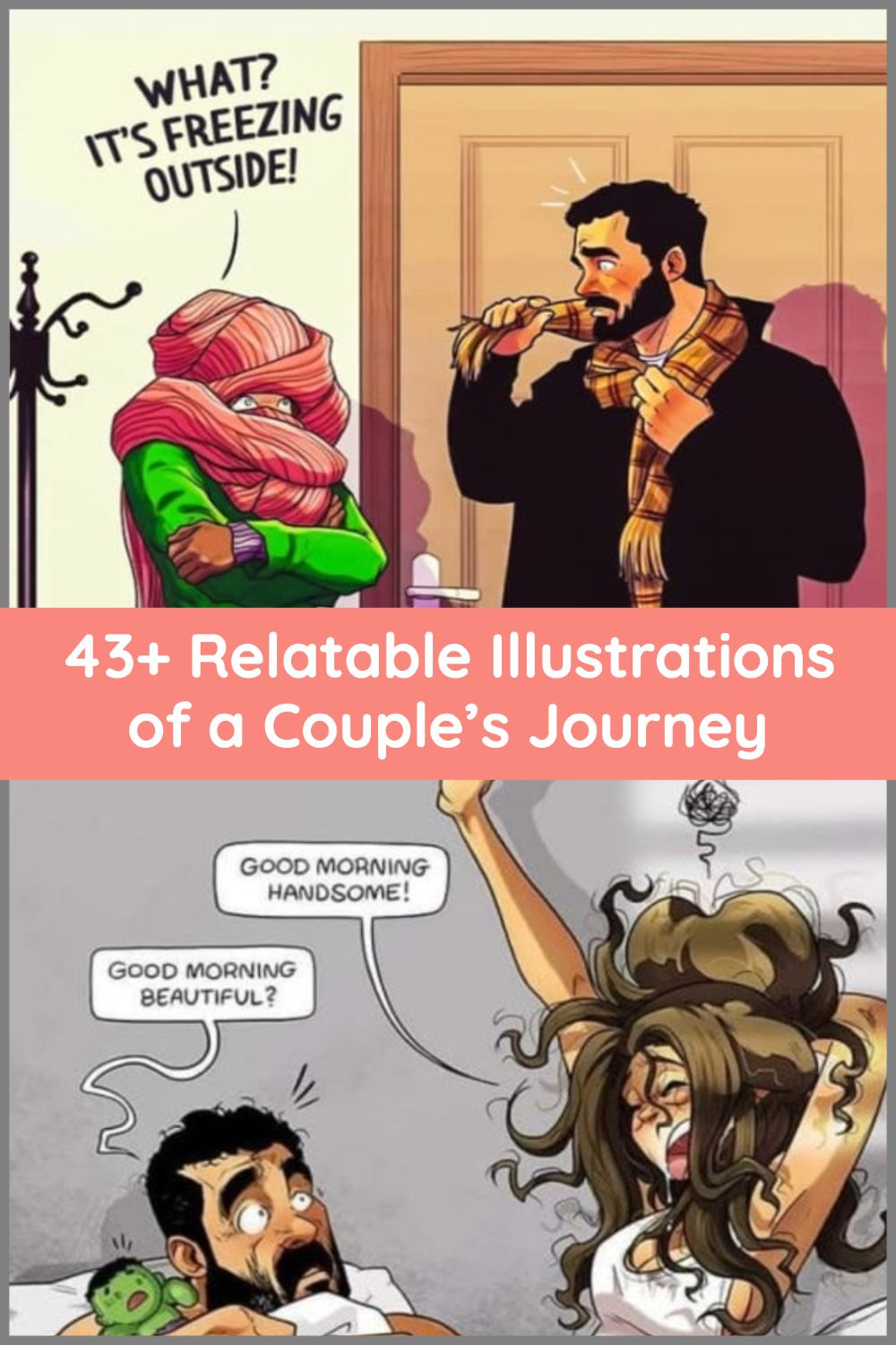 Inside One Couple S Relatable Journey Really Funny Memes Funny Jokes Really Funny