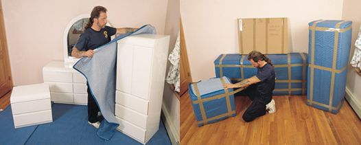 We Blanket Wrap All Furniture In The Finest Grade Moving Pads, Special Foam  And