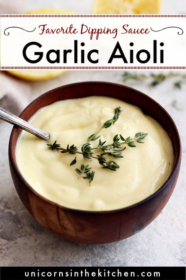 Easy Aioli Recipe From Scratch