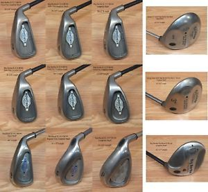 A Choice Of Callaway Big Bertha X 12 Steelhead X 14 S2h2 Iron Or