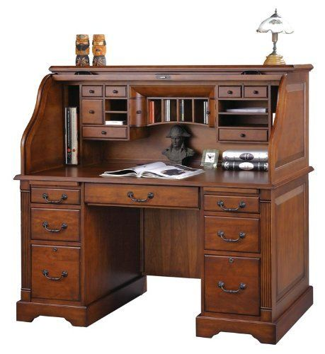 Pin By Antonio De La Torre Z On Roller Top Desk Roll Top Desk Home Office Furniture Desk