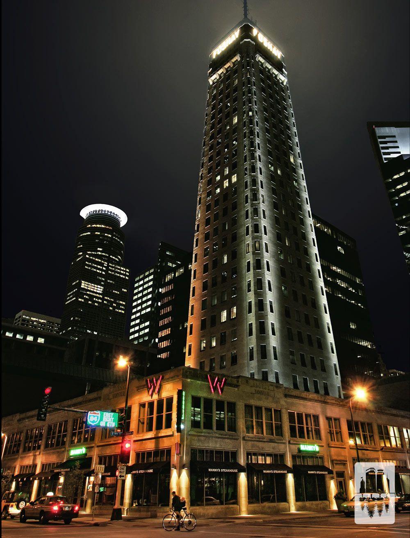 Foshay Tower In Downtown Minneapolis Minnesota Photo Credit