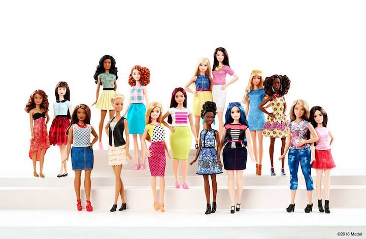 Since Barbie was first introduced in 1959, controversy has surrounded the doll because of her unrealistic proportions and narrow definition of beauty. This is an especially important conversation because young girls are often given Barbie dolls to play with at an impressionable age. Fortunately, Mattel (the company that produces Barbie) is changing with the times and recently revealed a Barbie Fashionistas collection, which includes 4 body types, 7 skin tones, 18 hair colors, and 18 eye…