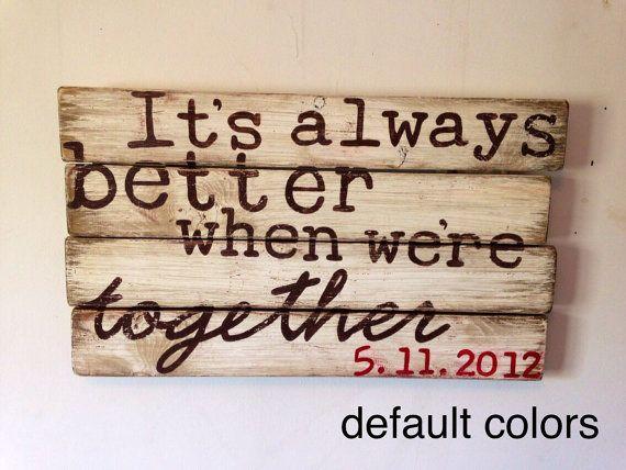 Wedding gift anniversary gift custom personalized family name