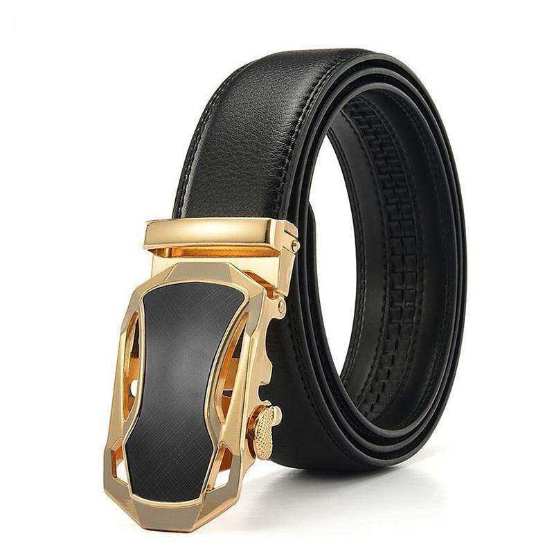 Fashion Automatic Car Shape Buckle Belts For Men Leather Belts Men Belt Buckles Mens Belts