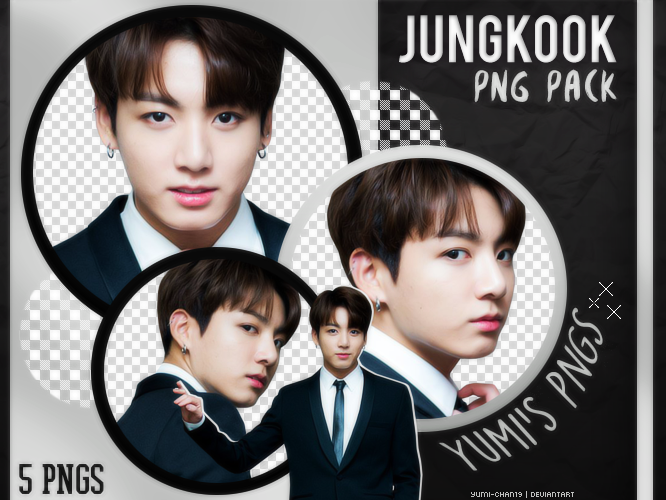 Png Pack Jungkook Bts 12 By Hallyumi Png Jungkook Bts